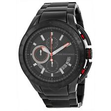 **NEW** MENS ARMANI EXCHANGE AX BLACK SPORTS XL CHRONO WATCH - AX1404 - RRP £199