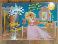 BARBIE -SUPERSTAR BACKSTAGE DRESSING ROOM- CAMERINO - MATTEL - 1989