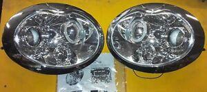 MINI COOPER 01-05  HEADLIGHT SET  HU201-02-1-E