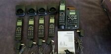 Panasonic KX-TG6641B 5 Handset Digital Cordless Phone System Home or Business.