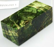 Pappel Maser grün stabilisiert | 106x48x40 | puq stabwood | poplar burl 6883