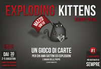 Exploding Kittens Edition VM18, Game, Table New by Asmodee, Ed. Italian