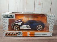 Jada Bigtime Muscle 2009 Chevy Corvette Stingray Concept 1:24 Diecast 5 Race Car