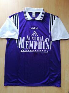 FK Austria Wien Vintage Football Jersey XL 1995 1996 Memphis Trikot Old Rare