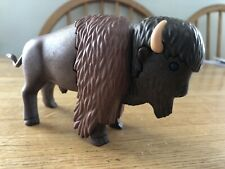 Playmobil Bison Buffalo HTF Excellent Condition!