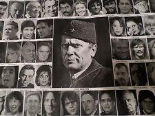 POSTER 110x75cm-430 Most famous people in Jugoslavija Srbija Hrvatska SFRJ Bosna