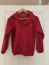 regatta waterproof jacket girls 9 /10 years fuchsia pink