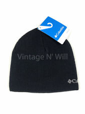 970d8833aec6f Columbia Black light Gray Logo Whirlibird Watch Knit Beanie Hat Cap Winter  Snow