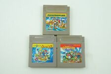 SUPER MARIO LAND 1 2 3 Wario GB Nintendo Gameboy From Japan