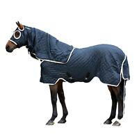Horseware, Rambo Show Set - Blanket, Navy/White, Small