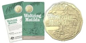 2020 50 Cent Coin Waltzing Matilda - Banjo Paterson (Free Tracking!)