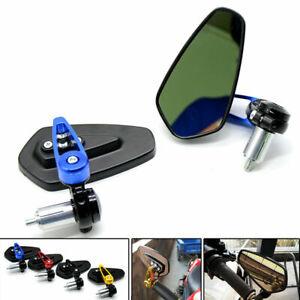 For Honda CBR600RR CB CBR MSX125 Kawasaki Z900 Z800 CNC Arrow Shape Mirrors Pair