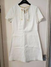 Ivory Alice A line dress by boden size 12 R ww030