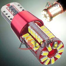 4 LED T10 57 SMD 3014 BIANCO Lampade Xenon Canbus NO Errore Luci Posizione W5