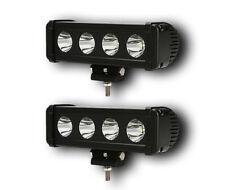 PAIR 40W POWERFUL 24V 12V LED CREE SPOT LIGHT BAR TRUCK 4X4 CAR SUV ATV OFF ROAD
