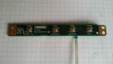 toshiba satellite S1410-604  pcb bouton power + nappe