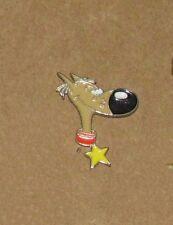 A-3   VINTAGE PIN Lucky Luke Rantanplan dog