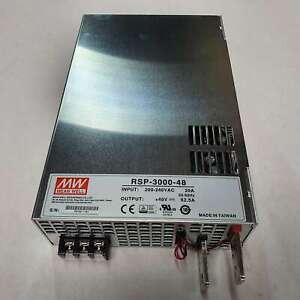 MW Meanwell RSP-3000-48 Schaltnetzteil   48 V   3000 W   -A4- Netzteil