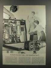 1961 Hasselblad 500C Camera Ad - Studio Travel Case