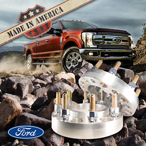 "2 USA | FORD Hub Centric Wheel Adapters / 1.5"" Spacers 