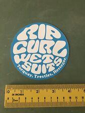 Rip Curl Decal/sticker Surfing