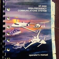 Collins Rockwell HF-9000 Com Operator's Manual
