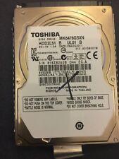 "Toshiba MK6476GSXN Faulty Spares Or Repairs. 640GB 2.5"" Hard Drive"