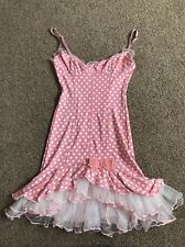 Vintage Wheels And Dollbaby Ballerina Polka Dot Tulle Dress Size 2
