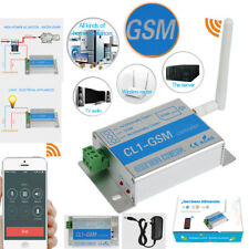 Cell Phone SMS SIM Call Remote Control GSM RELAY Quad Band Smart Opener Switch