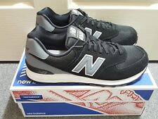 New Balance Men's Classic 574 Reflective Black Grey Shoes Sz 9.5 (ML574CNA) NIB