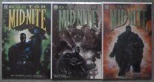 DOCTOR MIDNITE #1-3 SET..MATT WAGNER/JOHN K. SNYDER..DC 1999 1ST PRINT.VFN+