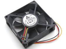 Delta Electronics 12V DC 0.51A 4000RPM 80mm x 80mm x 25mm 3-Pin Fan AFB0812SH
