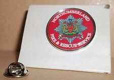 Northumberland Fire and Rescue Service bavero pin badge