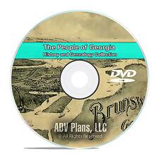 Georgia GA, People Civil War Stories History and Genealogy -141 Books DVD CD B01