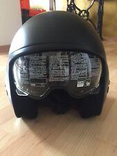 AGV Helm Diesel HI-JACK mattschwarz Größe: S Harley Bobber wie Neu
