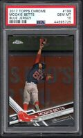 2017 Topps Chrome #199 MOOKIE BETTS Blue Jersey PSA 10 GEM MINT