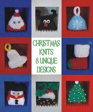Tejer patrón: Mini Decoración de Navidad, Santa, Árbol, Reno, Adorno, etc.