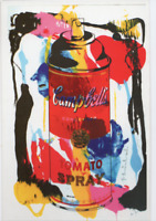 MR BRAINWASH LA Art Show 2011 Benjamin Franklin Event Promo Card NEVER SOLD