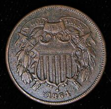 1864 2C TWO CENTS.