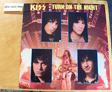 "45 rpm 12"" EP record KISS Turn on the Night 4-songs NEW OLD STOCK w/ pic sleeve"
