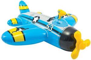 Intex Luftmatratze Ride On Flugzeug | Badespielzeug aufblasbar Wasserspielzeug