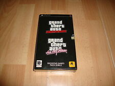GRAND THEFT AUTO GTA DOBLE PACK LIBERTY - VICE CITY STORIES PSP NUEVO PRECINTADO