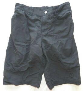 Bike cycling shorts NOVARA size SMALL black padded loose 22 Inch Waist (ja62)