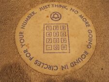 Vintage Bell Telephone swag cap remover