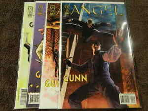 2005 IDW Comics ANGEL Spotlight GUNN #1 All 4 Variant Covers Complete Set  VF/NM