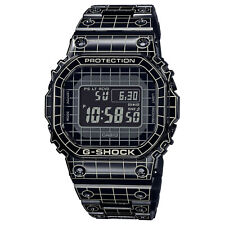 New Casio G-Shock Full Metal Back Neo Grid Line Digital Watch GMWB5000CS-1