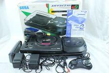 Sega Mega CD2 mega drive Console box controller tested Working Japan
