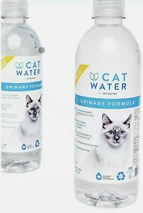 9 pack of 16.9 ounce bottles of Vetwater Urinary Formula Cat Water