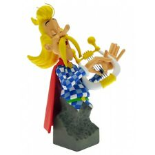 MINI BUST ASTERIX - ASSURANCETOURIX  /  COLLECTION PETITBONUM   (NEW IN PACKAGE)
