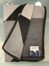 100% Cashmere Throw Blanket | Johnstons of Elgin | Charcoal | Made in Scotland